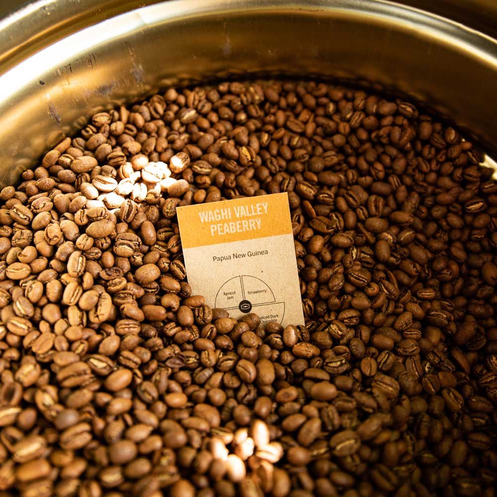 Waghi Valley peaberry