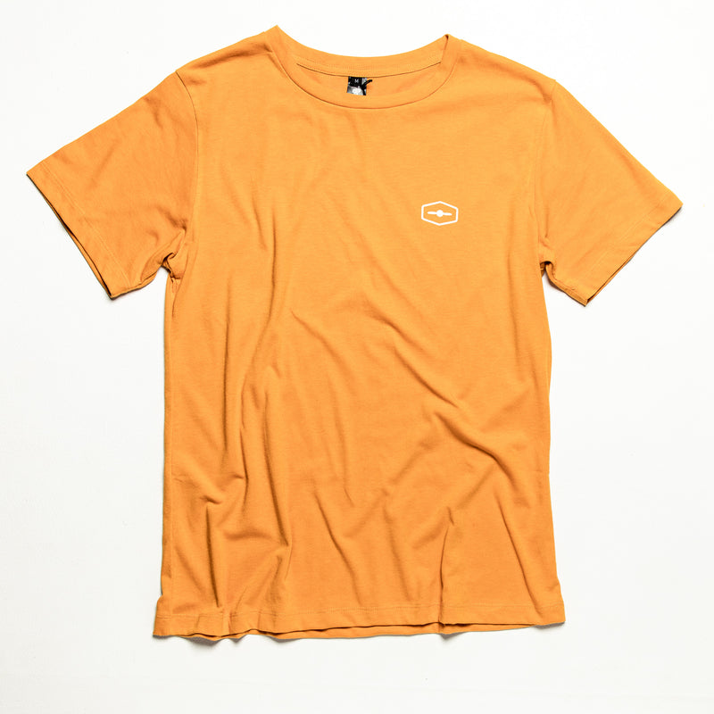Dawn Patrol Mustard - Recycled PET Bottles Tee