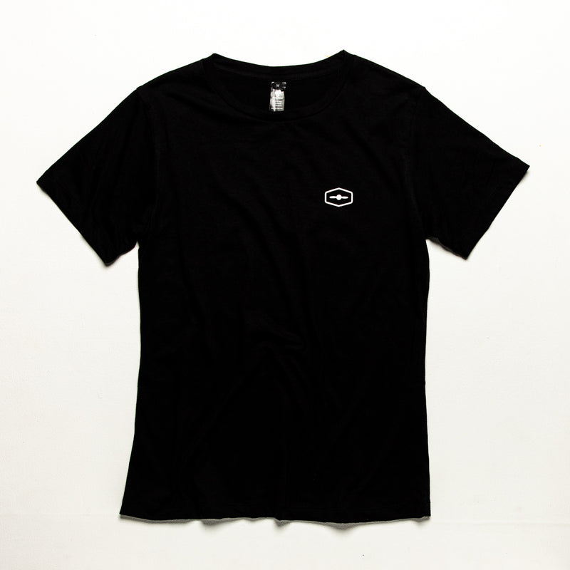 Dawn Patrol Black - Recycled PET Bottles Tee