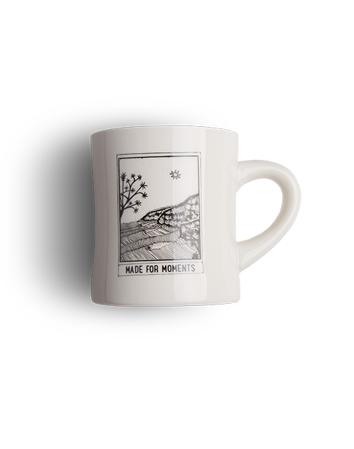Made for Moments diner mug Clandestino Roasters