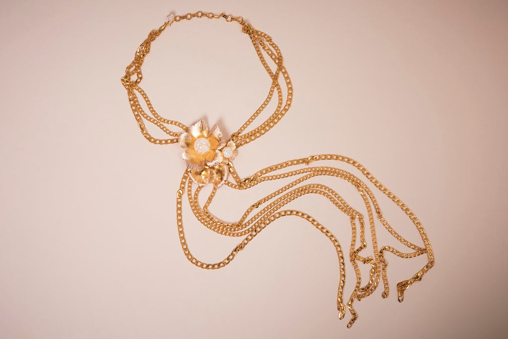 Collier cravate - Collaboration avec Philippe Ferrandis - prunegoldschmidt