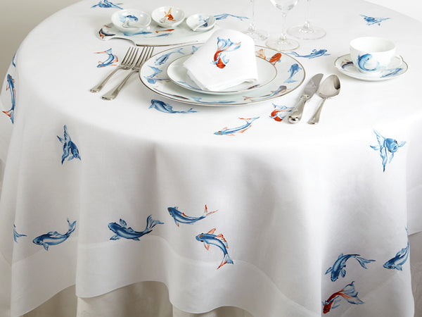 Introducing Collections of Hand Painted Limoges and Coordinated Linens
