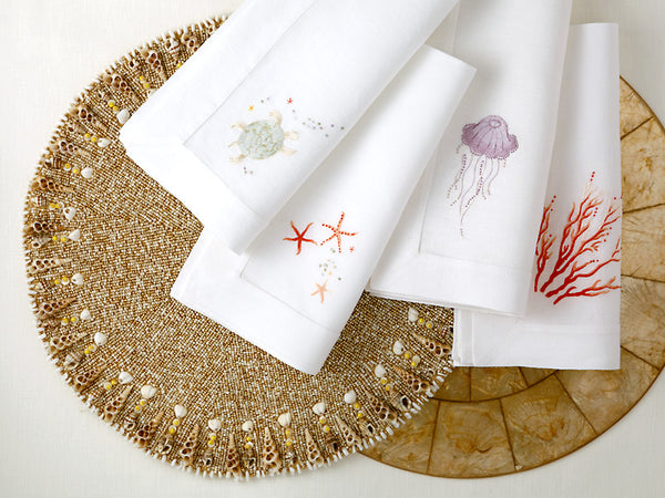 New Placemats and Napkins Just in Time for Summer Entertaining