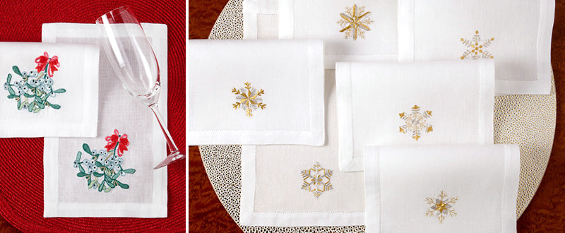 holiday cocktail napkins 3