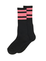 SOCCO Knee Black/Pink