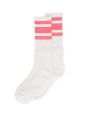 SOCCO Knee White/Pink