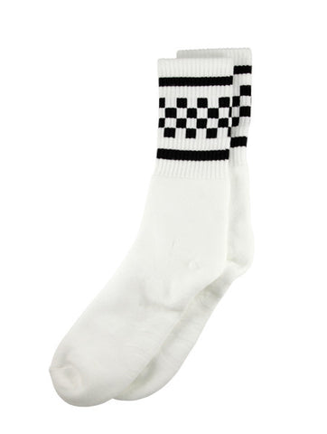SOCCO Checkered - White