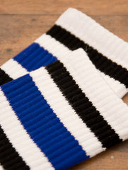 SOCCO Crew White/Black Blue