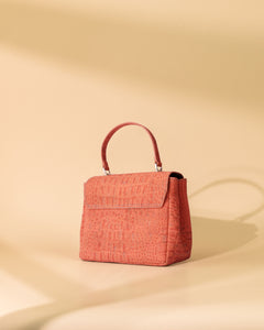MINI CORAL CORK SHOULDER BAG ADJUSTABLE STRAP