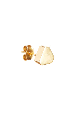 GOLD TRIANGLE EARRING