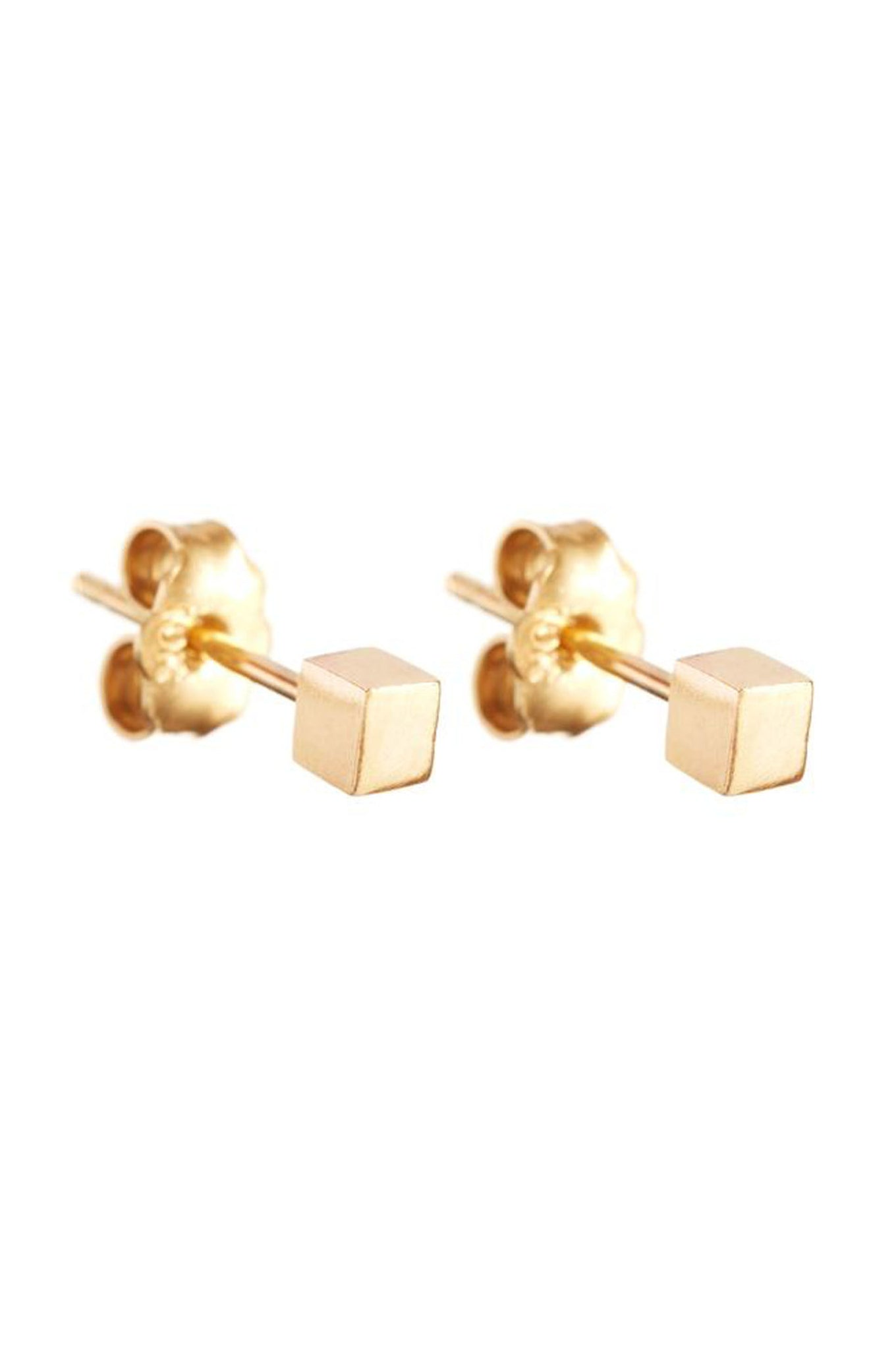 GOLD BOX EARRING