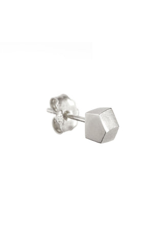 SILVER POINT EARRING