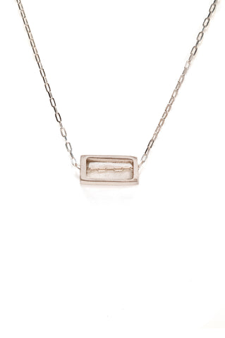 Silver Horizon Reck Necklace