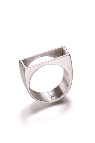Silver Reck Top Ring