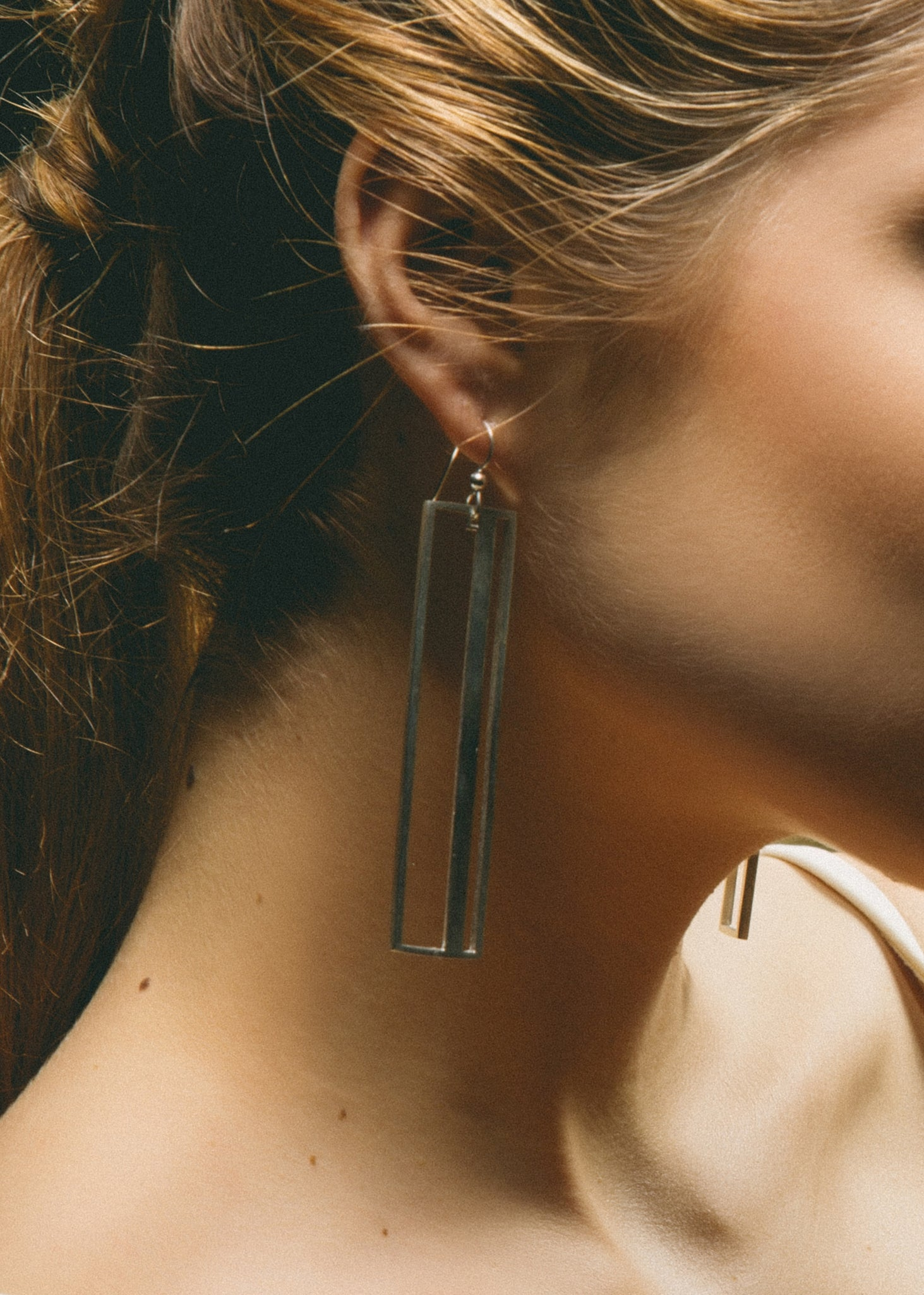 Silver Offprint Earrings