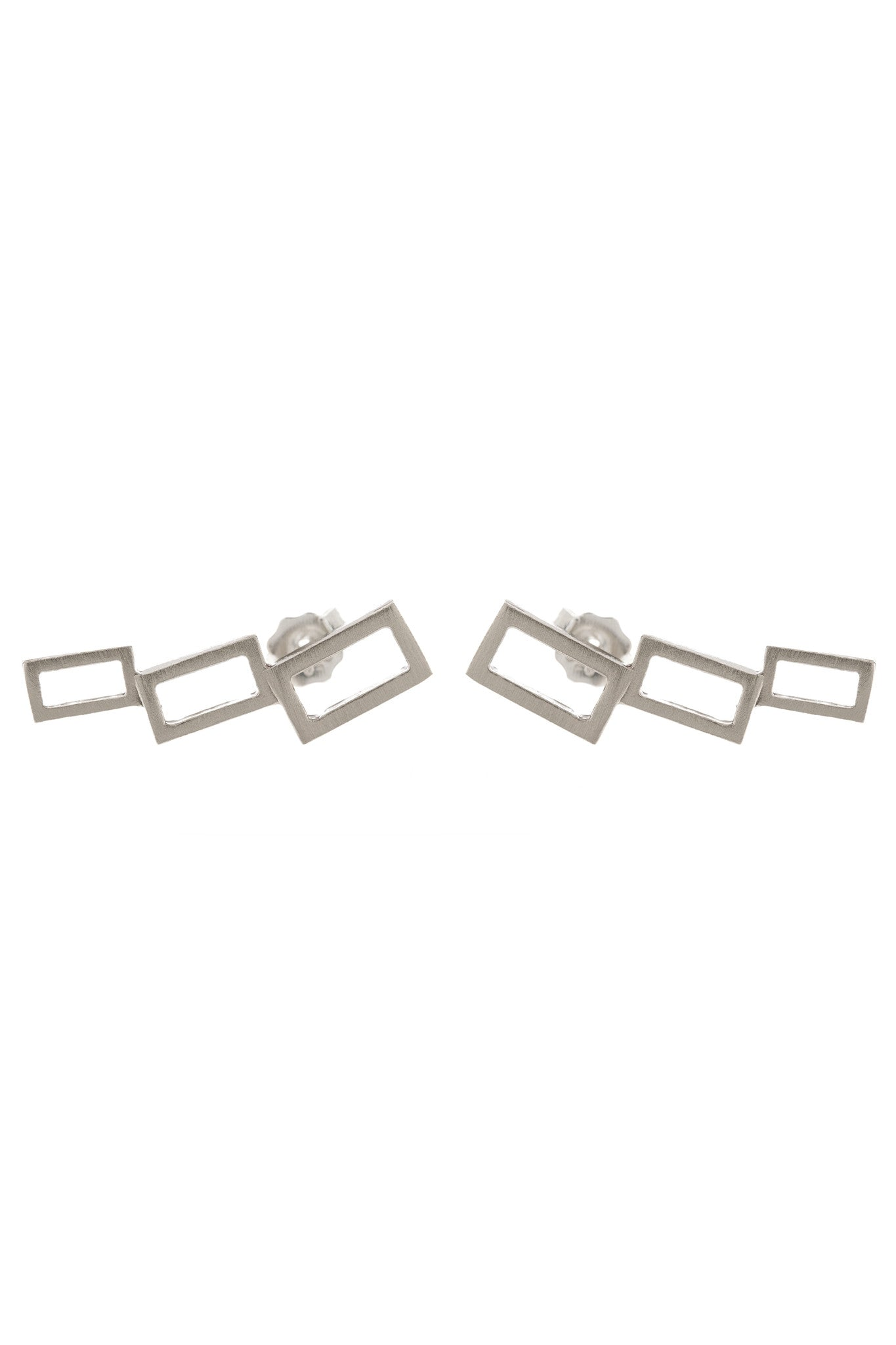 Silver Trace Earrings