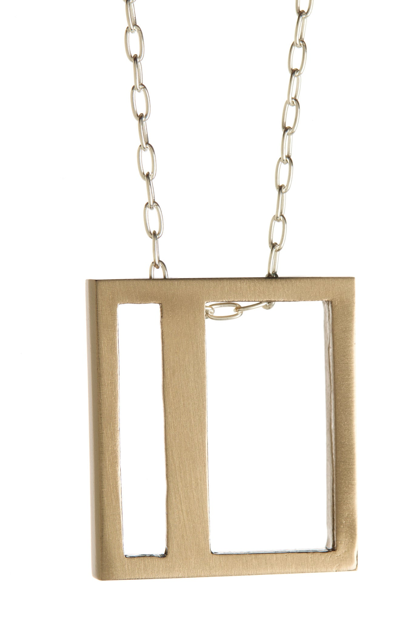 Bronze Offprint Necklace
