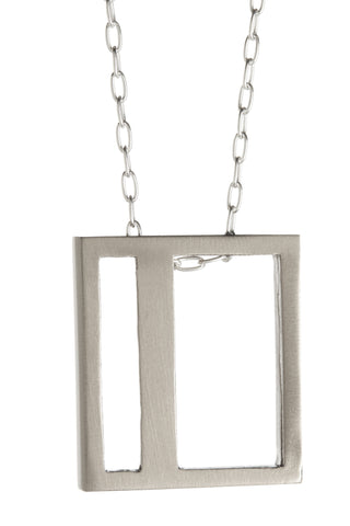 Silver Offprint Necklace