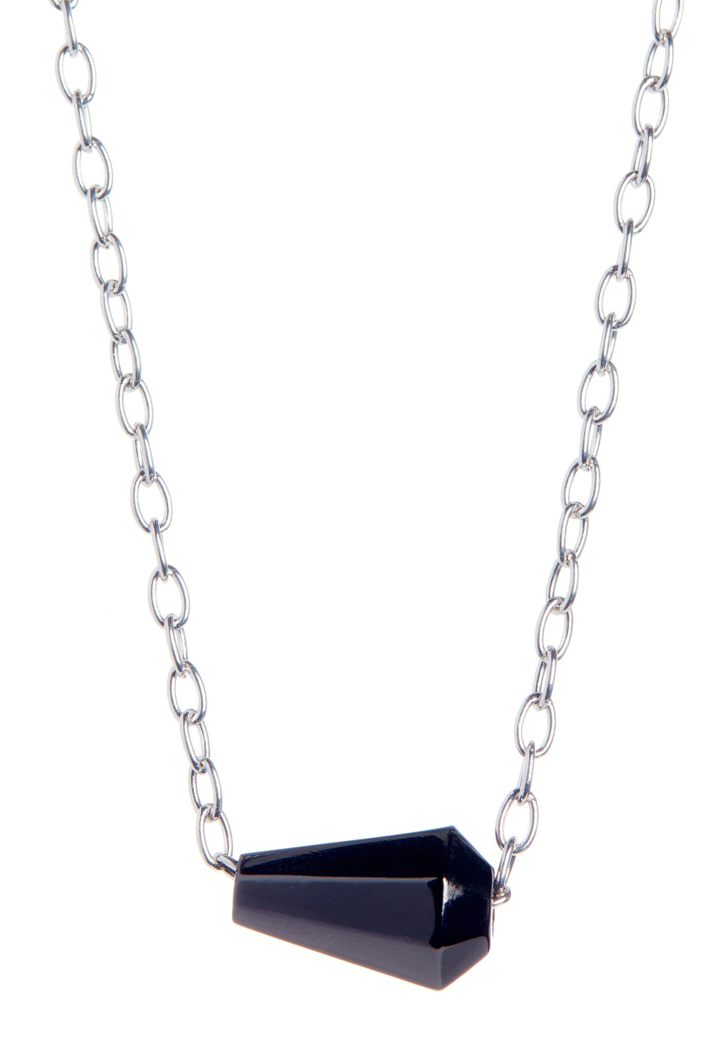 Black Petite Necklace