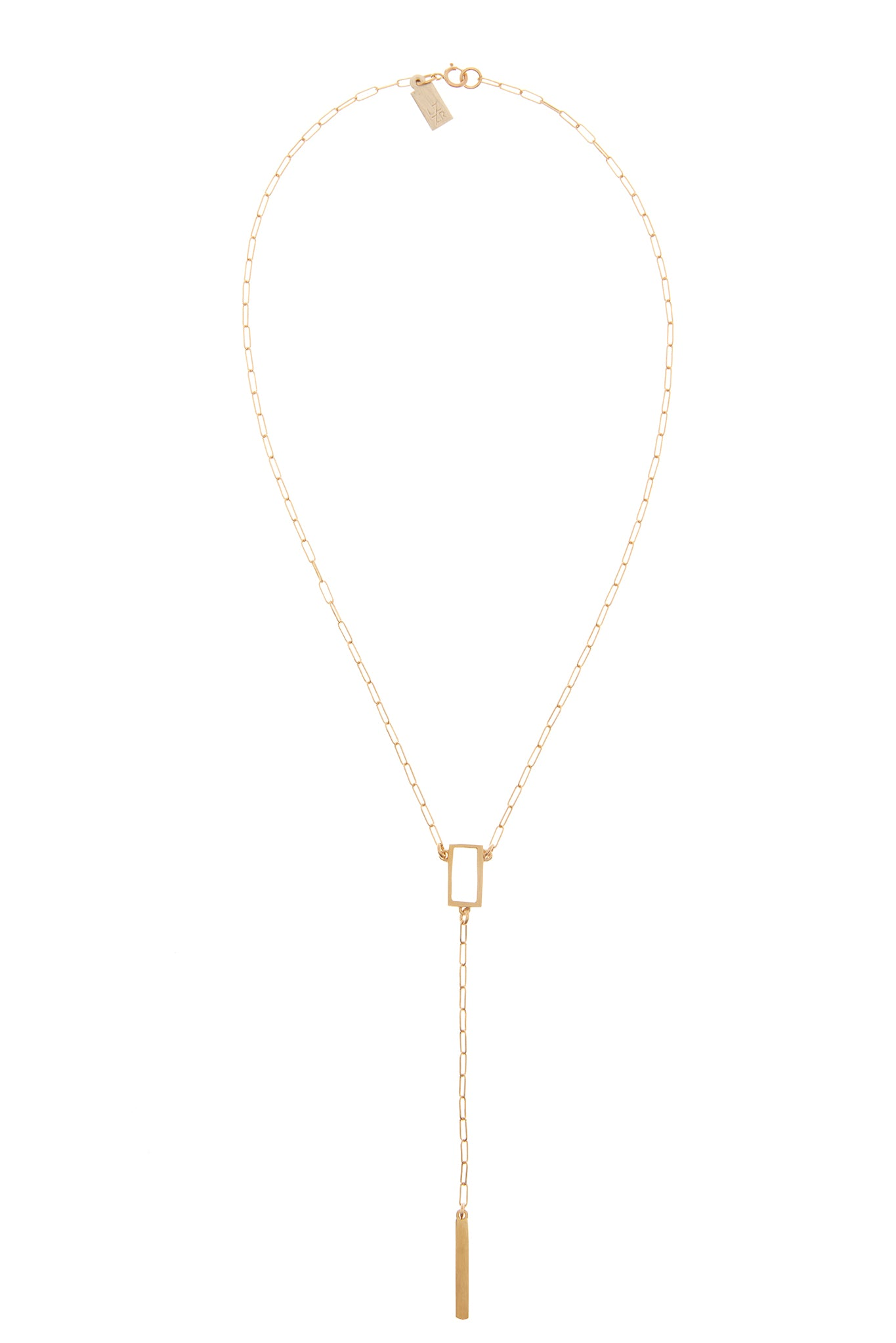 SMALL GOLD DROP NECKLACE