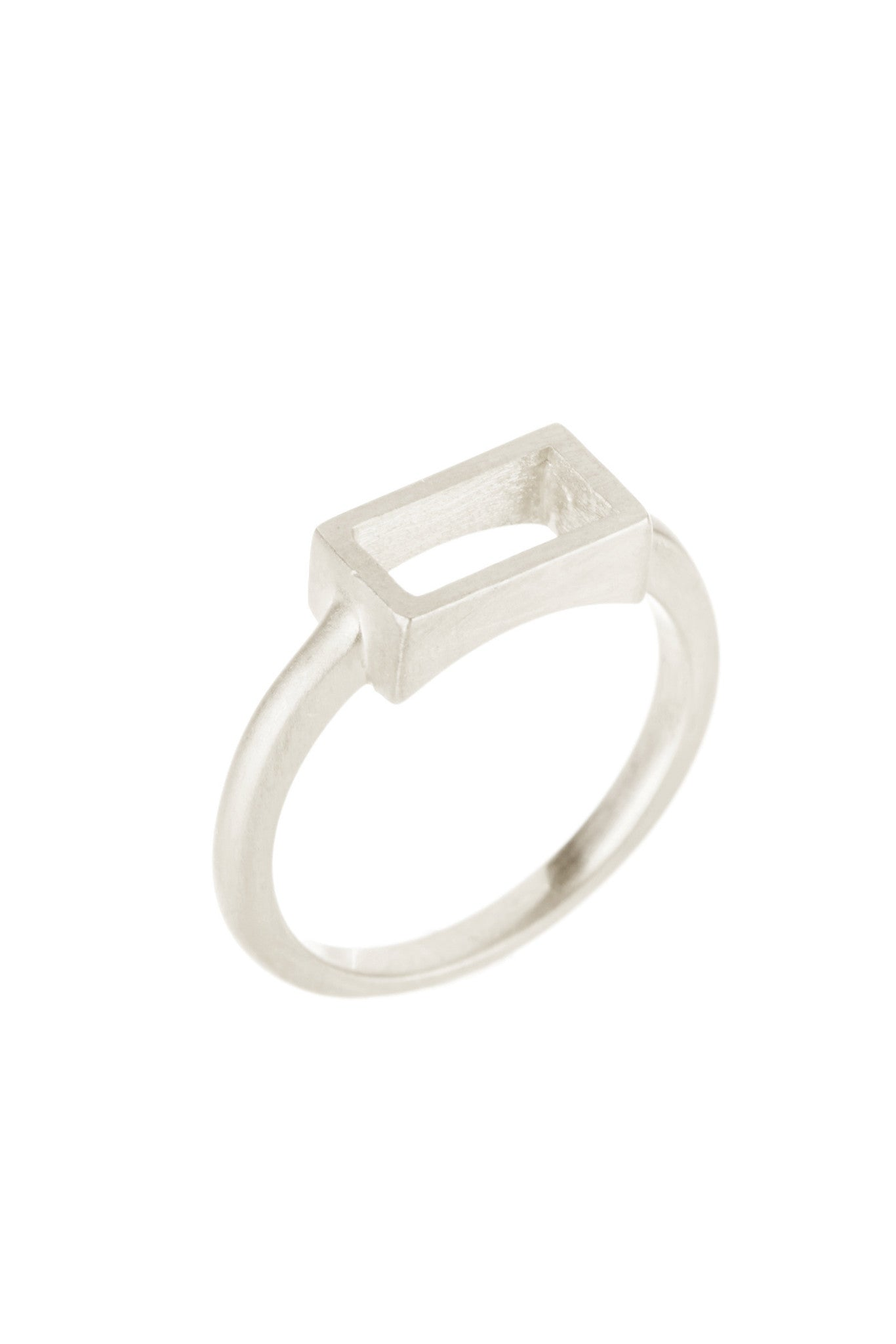Silver Mini Case Ring