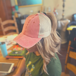 Baseball Cap, Orange - My Eclectic Gem
