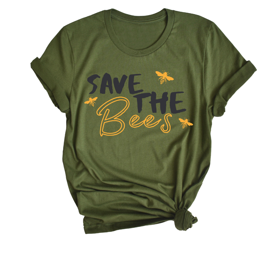 Save The Bees Tee - My Eclectic Gem