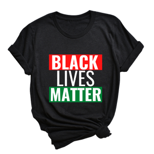 Black Lives Matter Tee - My Eclectic Gem