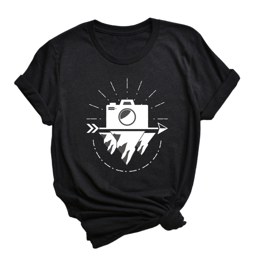 Camera Adventure Tee - My Eclectic Gem