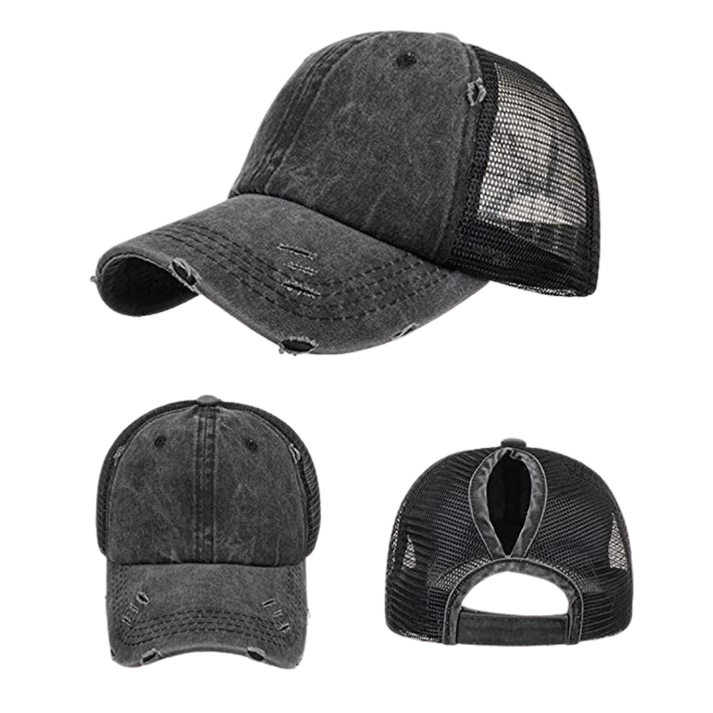 Baseball Cap, Black - My Eclectic Gem