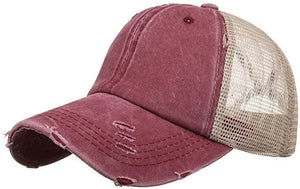 Baseball Cap, Red - My Eclectic Gem