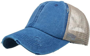 Baseball Cap, Blue - My Eclectic Gem
