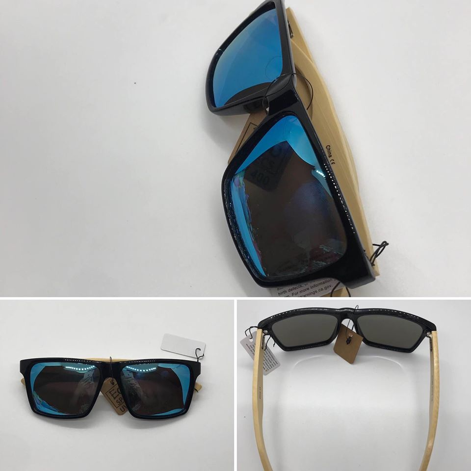 Polarized Bamboo Sunglasses for Men and Women