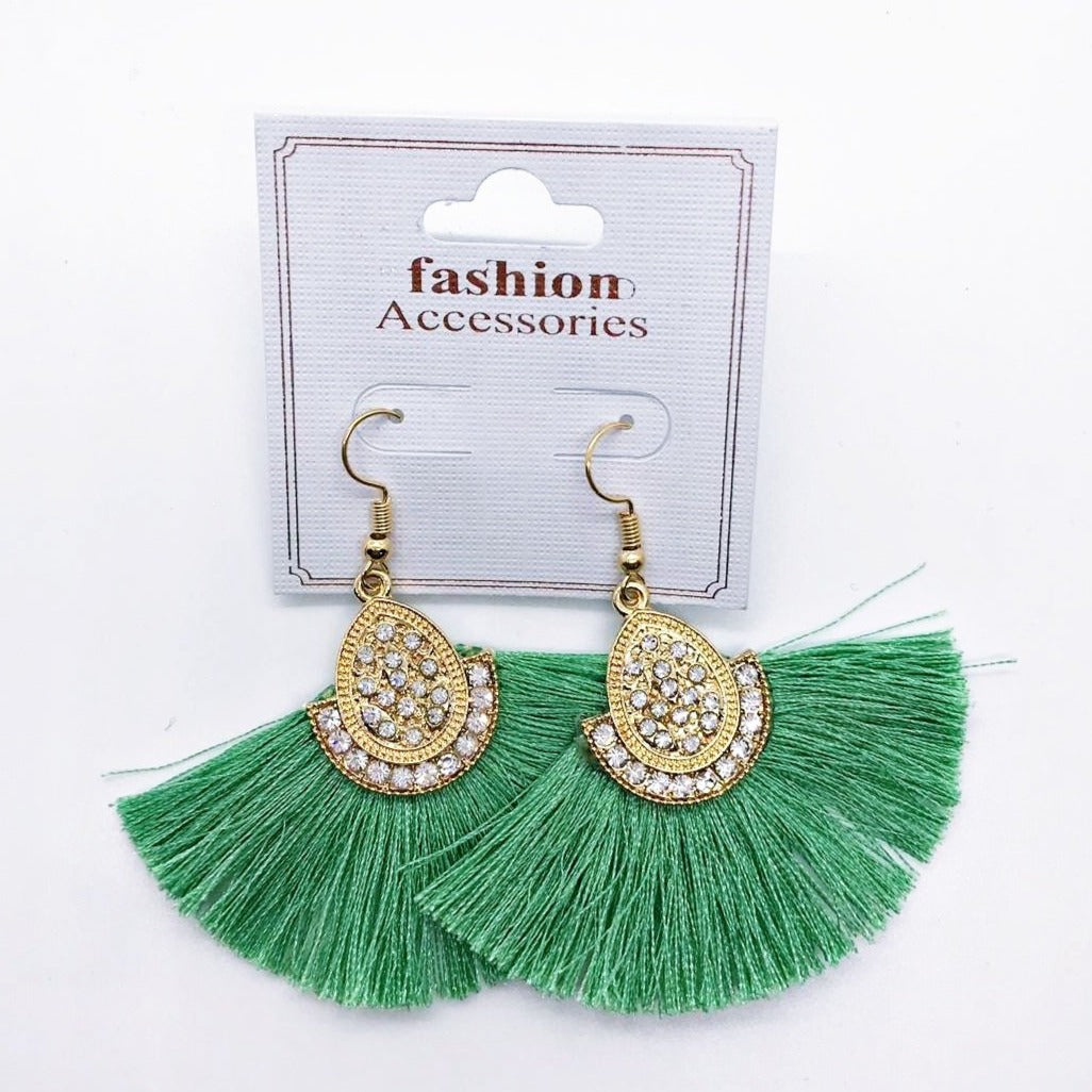 Tassel Drop Earrings 1 pair