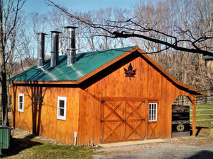 Tucker Maple Sugarhouse on November 2020 in Westford, VT