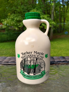 Jugs of Pure Maple Syrup