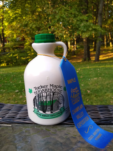 Vermont Pure Maple Syrup made by Tucker Maple Sugarhouse