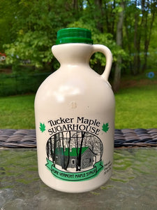 Maple Syrup made in Vermont by Tucker Maple Sugarhouse