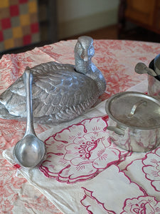 Arthur Court Duck Tureen with Ladle