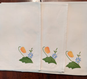 Applique Napkins