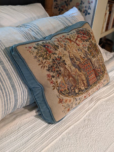 Needlepoint Boxed Pillow