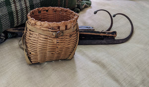 Miniature Indian Gathering Basket Backpack