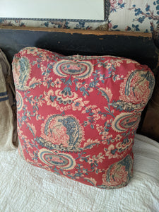 Pair Schumacher Vintage Fabric Pillow