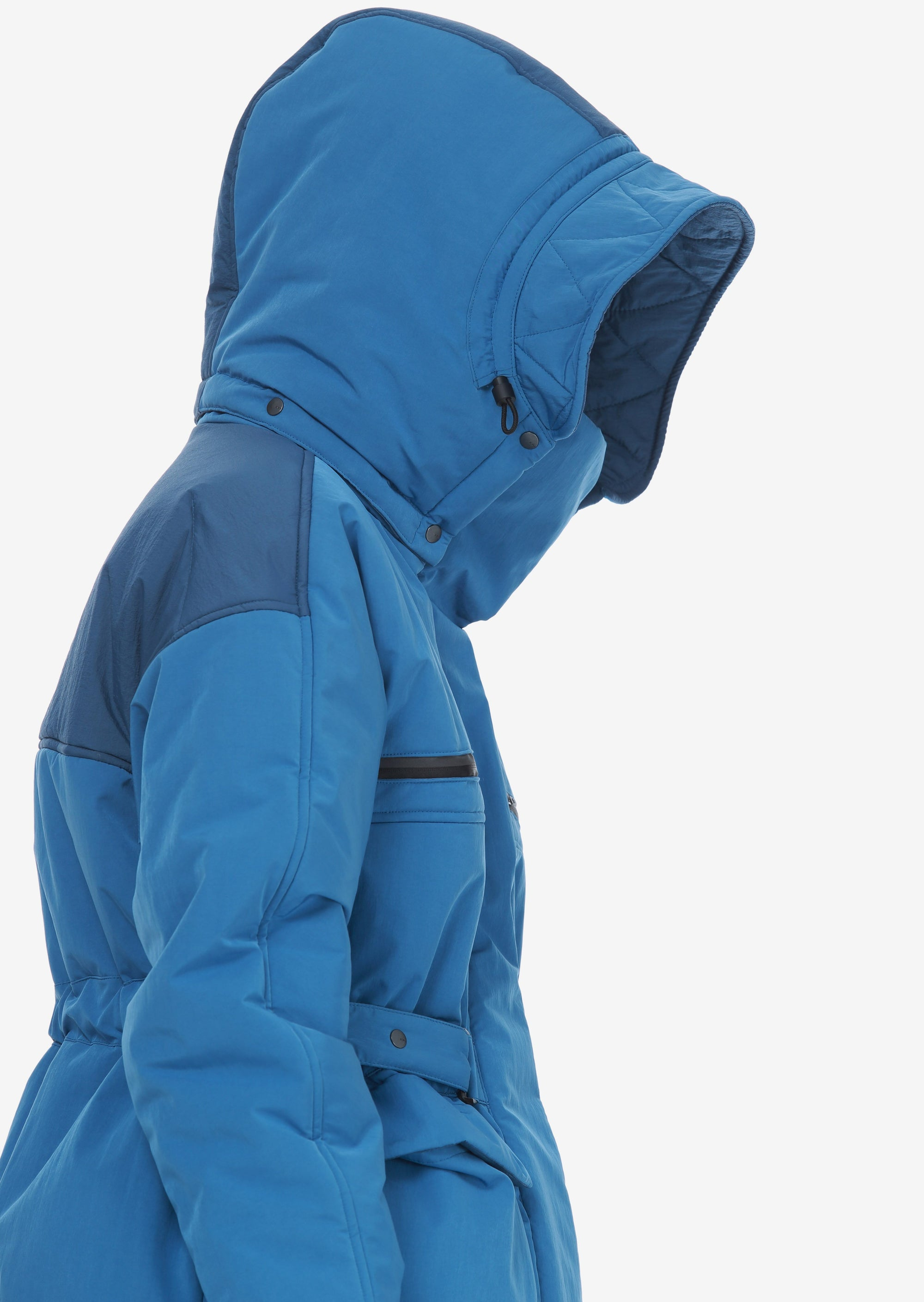 Removable Hood Padded Jacket Qw259-6 LARSEN