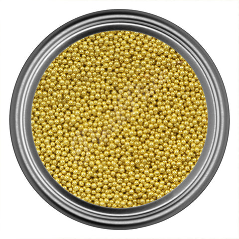 Gold Light Caviar Beads
