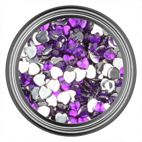 Purple Heart Rhinestones