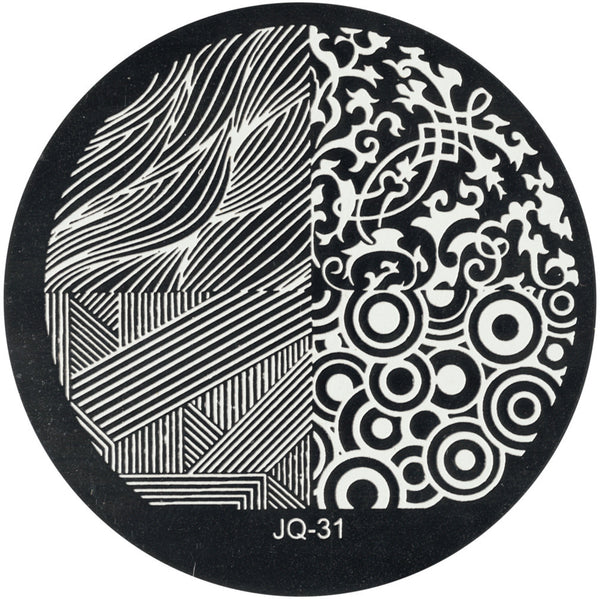 JQ 31 Stamping Template