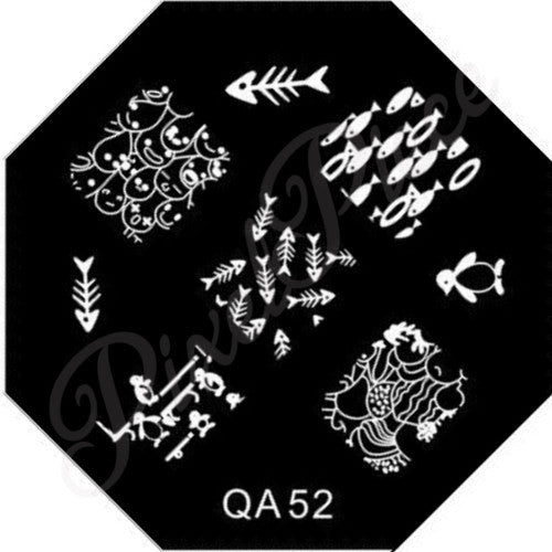 QA 52 Stamping Template