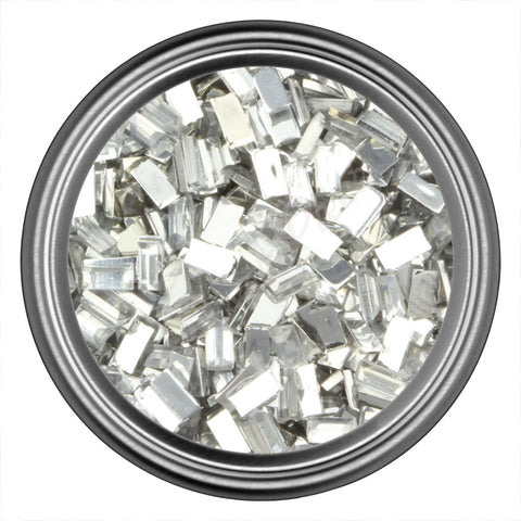 Crystal Rectangle Rhinestones