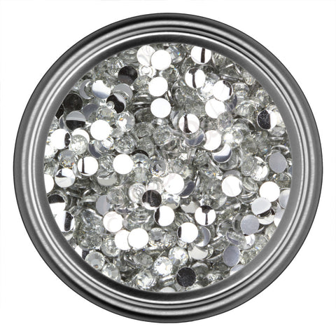 Crystal Round Resin Rhinestones 2mm 3mm 4mm 5mm 6mm